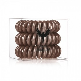 Hair Bobbles Brown 3szt