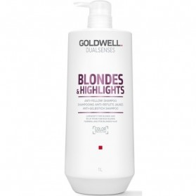Goldwell Dualsenses Blondes & Highlights Anti Yellow Shampoo 1000ml